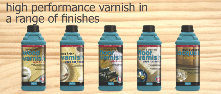 varnish range